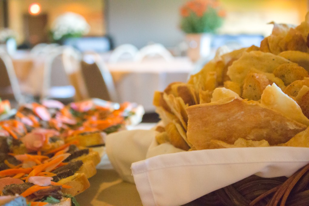 Choose your caterer for your Harbor View event